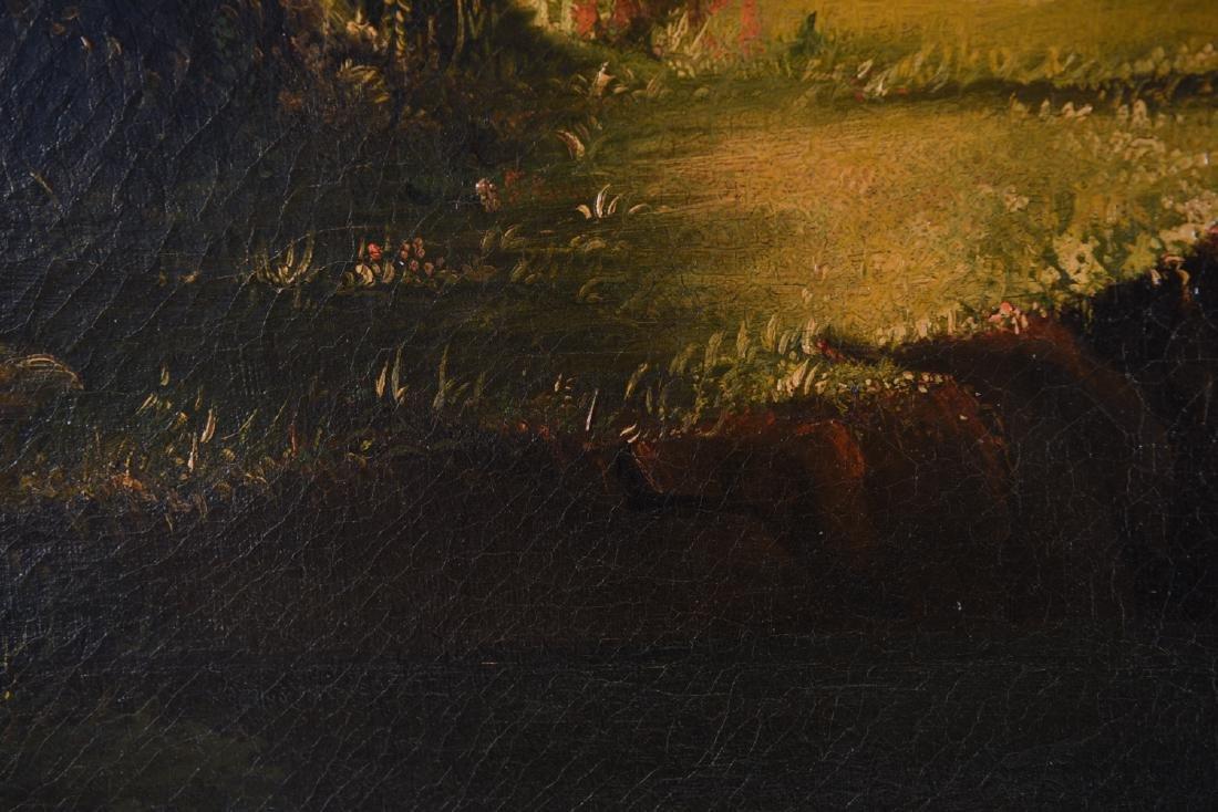JOHN RUBENS SMITH (1775 - 1849) HUGE LANDSCAPE - 9