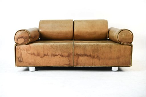 Brilliant Marzio Cecchi Italian Brown Buffalo Leather Sofa Inzonedesignstudio Interior Chair Design Inzonedesignstudiocom