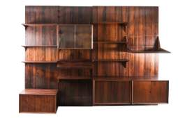 POUL CADOVIUS ROSEWOOD CADO WALL SYSTEM