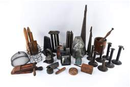 GROUPING OF ANTIQUE COUNTRY ITEMS
