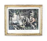 CURRIER  IVES PRINT