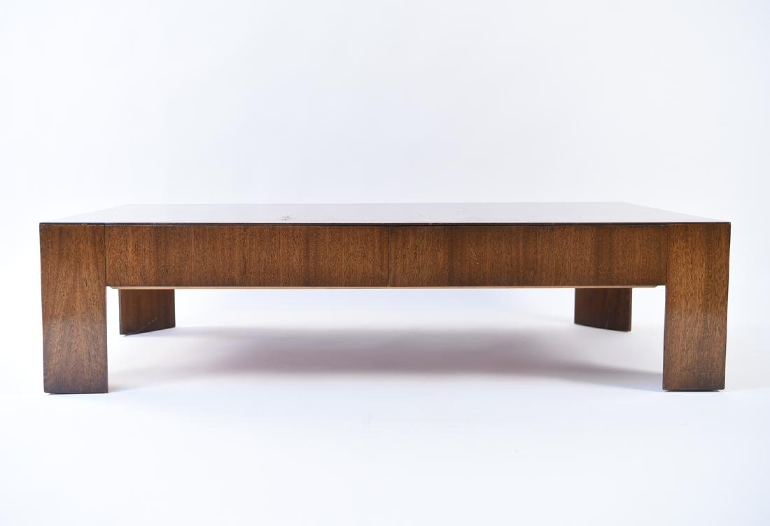 DIRECTIONAL 2-DRAWER WOODEN COFFEE TABLE