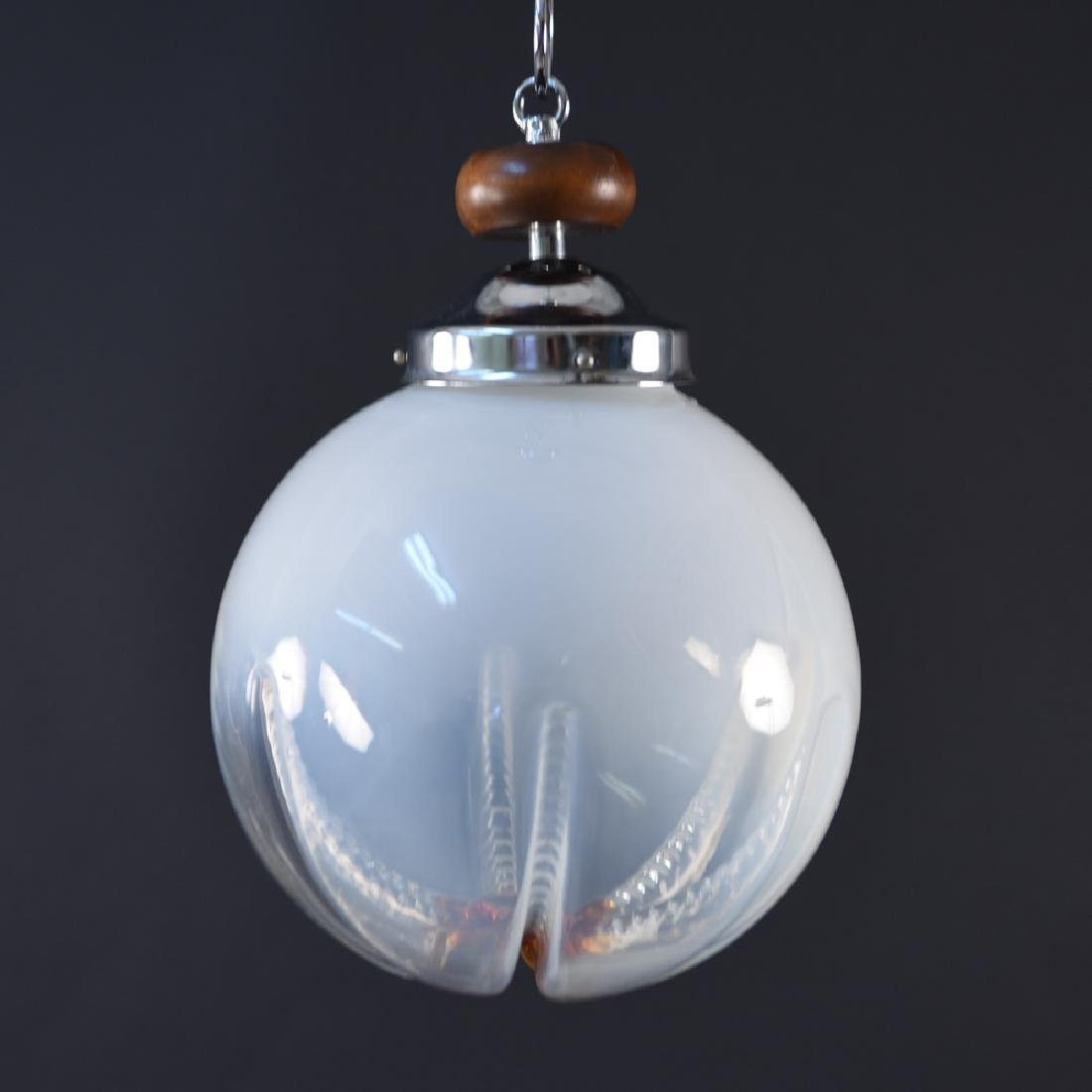 MAZZEGA MURANO ITALIAN GLASS PENDANT LAMP