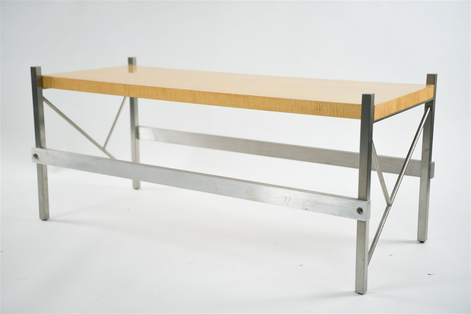 MID-CENTURY PACE COLLECTION LOW CONSOLE TABLE