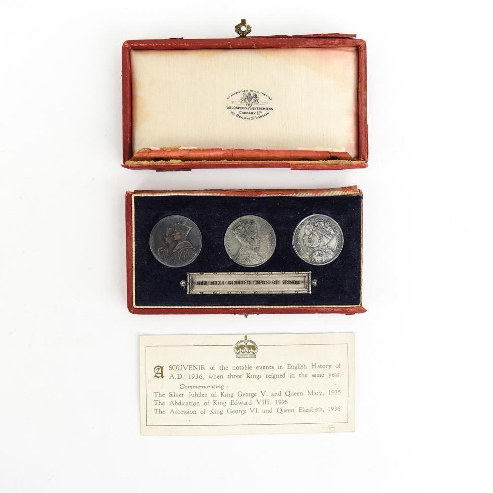 1936 COMMEMORATIVE ENGLISH SILVER COINS