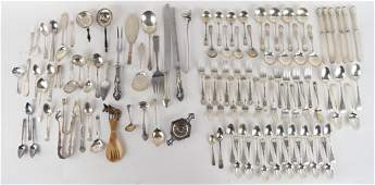 LARGE GROUPING OF STERLING SILVER ETC