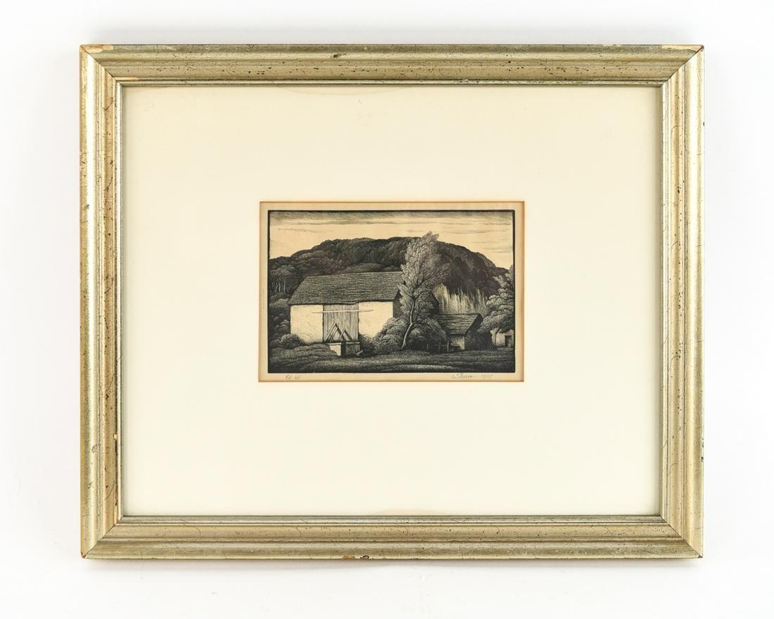 THOMAS NASON (1889-1971) WOOD ENGRAVING