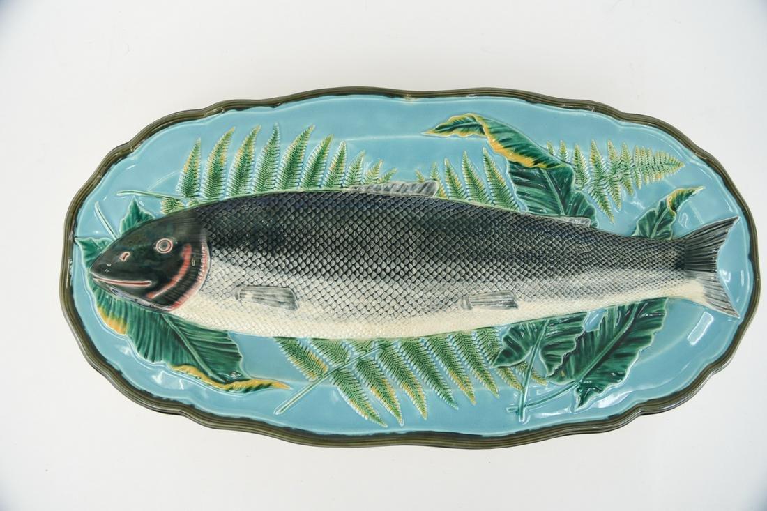 WEDGWOOD MAJOLICA FISH PLATTER/PLAQUE