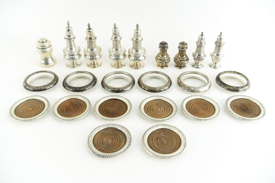 GROUPING OF STERLING SILVER