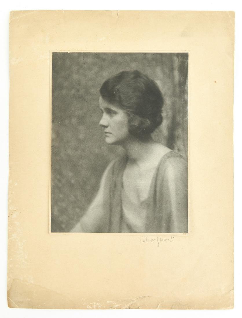 T. O'CONOR SLOANE JR. (AMER. 1870-1963) PHOTOGRAPH