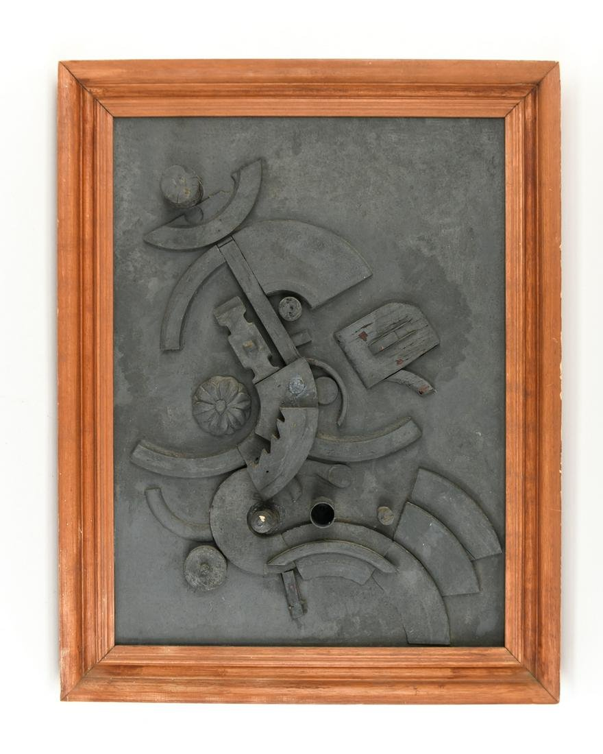 LOUISE NEVELSON STYLE ASSEMBLAGE ART