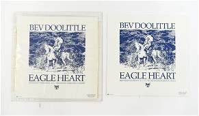 BEV DOOLITTLE SIGNED LTD. ED. PRINTS