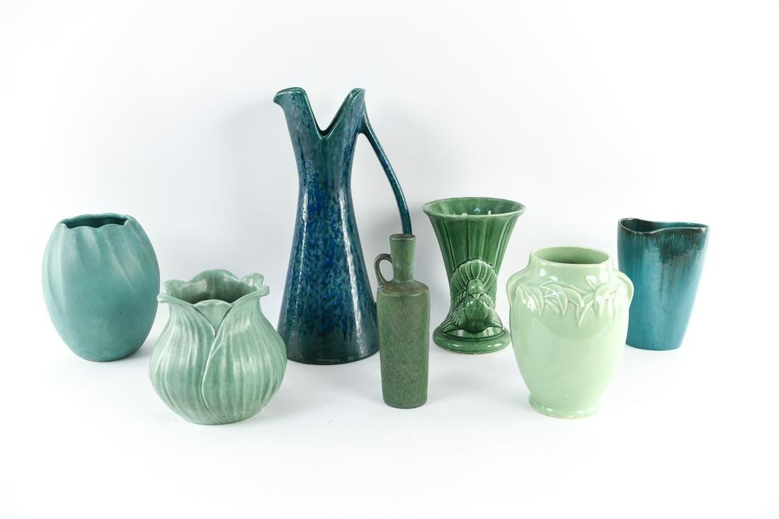 GROUPING OF AMERICAN ART POTTERY