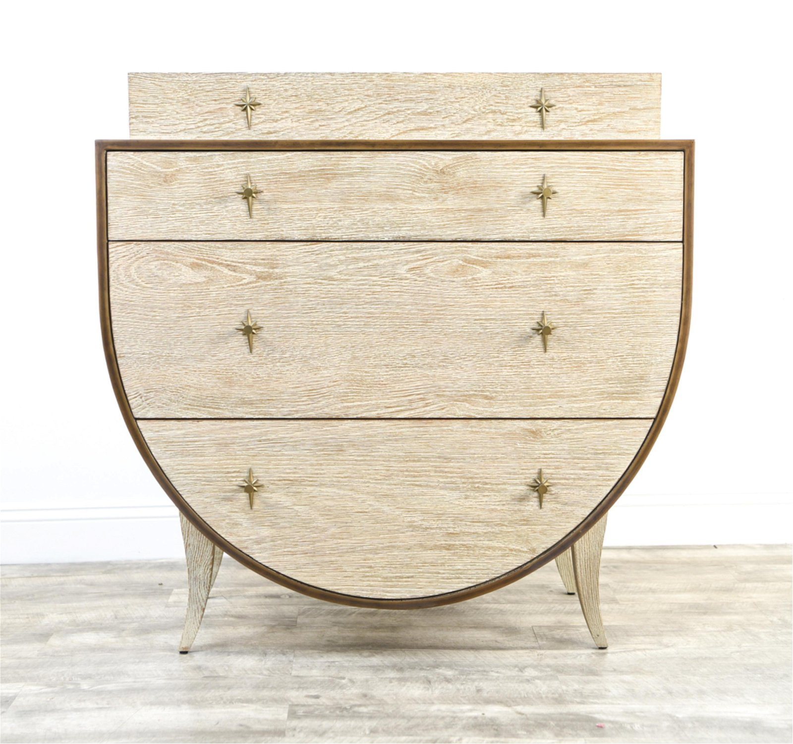CERUSED OAK CHEST OF DRAWERS