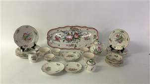 LUNEVILLE FRANCE CERAMIC GROUPING
