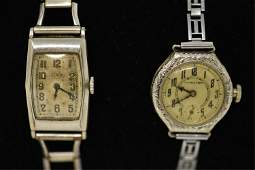 2 ART DECO 14K GOLD FILLED WATCHES