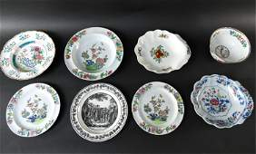 GROUPING OF PORCELAIN INCL. SPODE