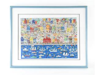 """JAMES RIZZI """"ON THE WATERFRONT"""" 105/175 C. 1987"""