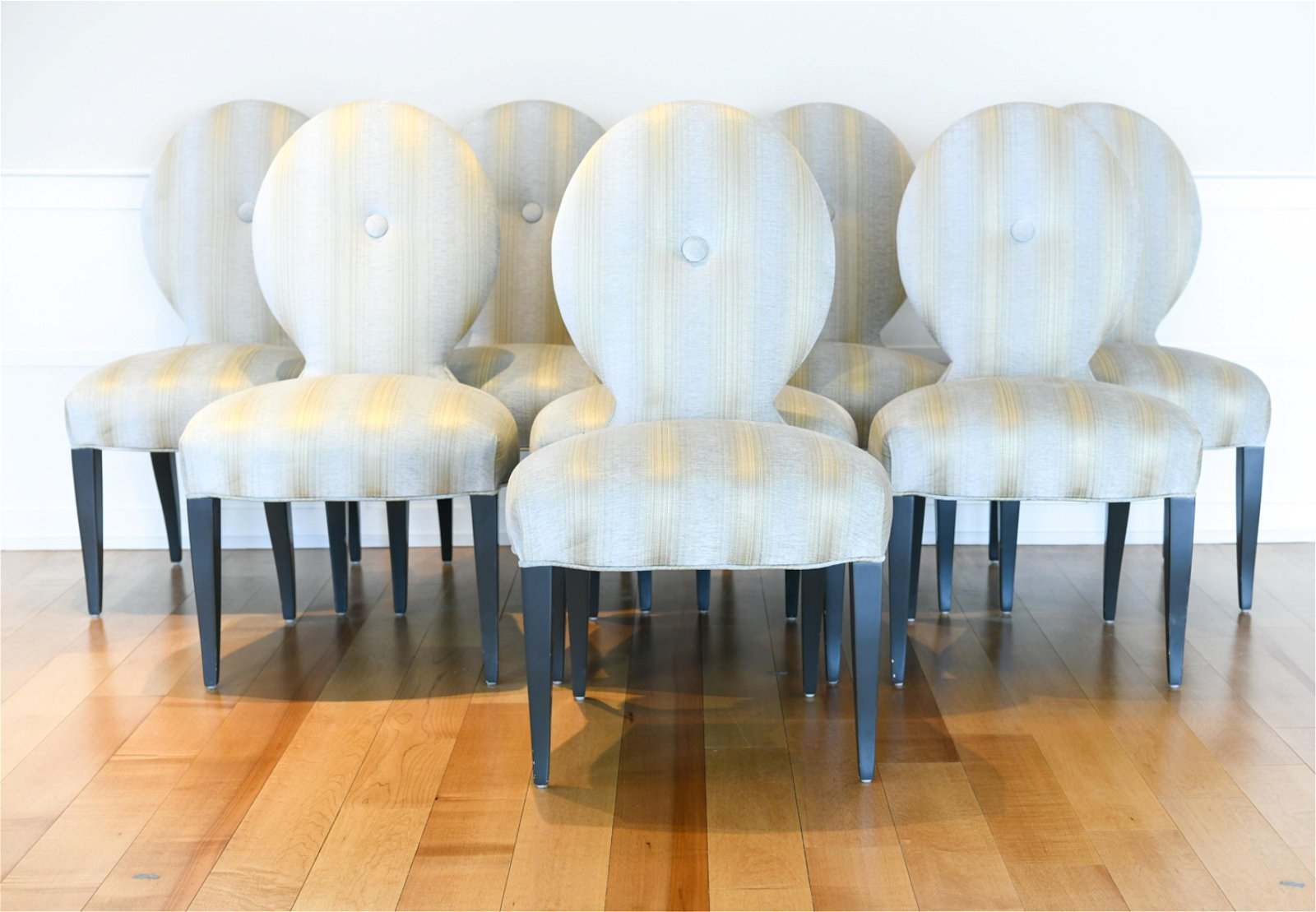 (8) DONGHIA DINING CHAIRS