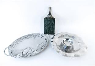 GROUPING OF LENOX SERVING PLATTERS