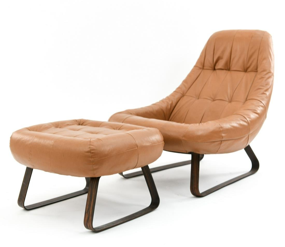 PERCIVAL LAFER LOUNGE CHAIR & OTTOMAN