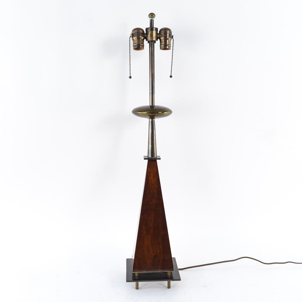 ART MODERNE FRENCH OBELISK TABLE LAMP