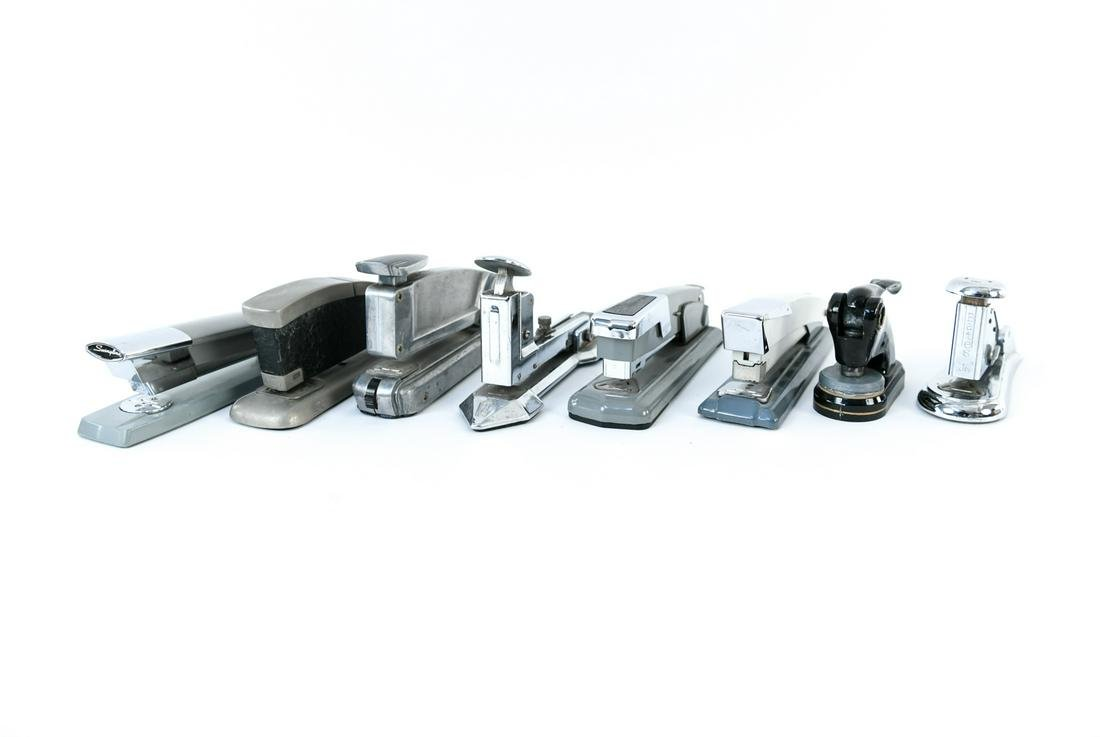 GROUPING OF VINTAGE STAPLERS