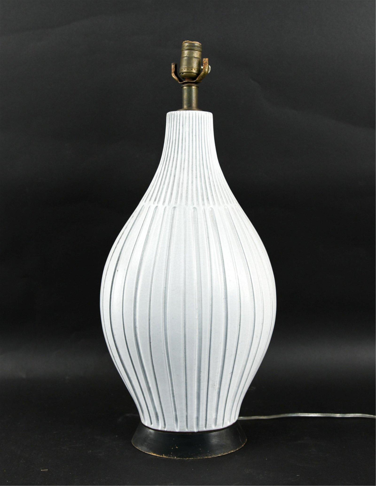 LARGE STUDIO CERAMIC LAMP