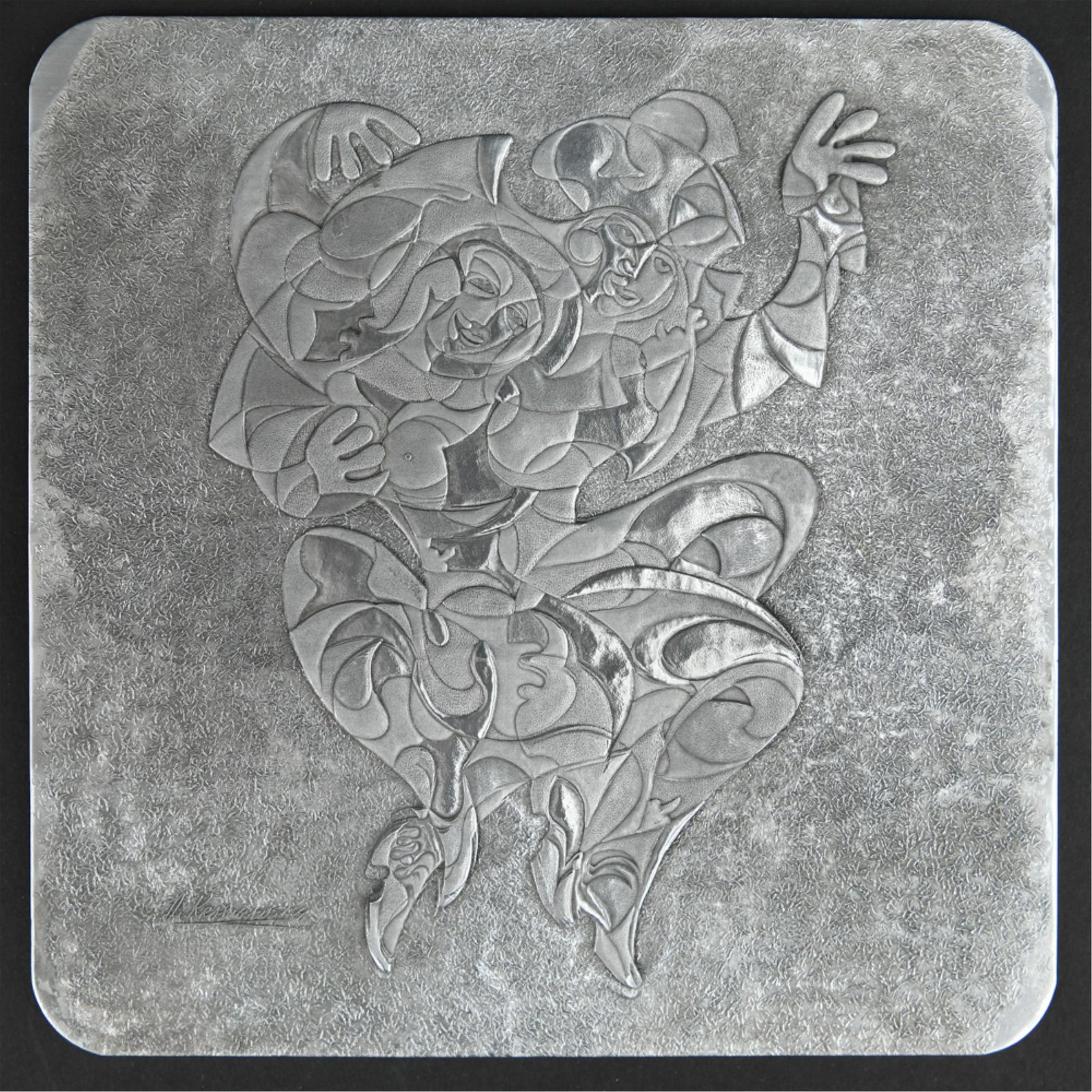 ANTOLE KRASNYANSKY LIMITED EDITION METAL PLAQUE