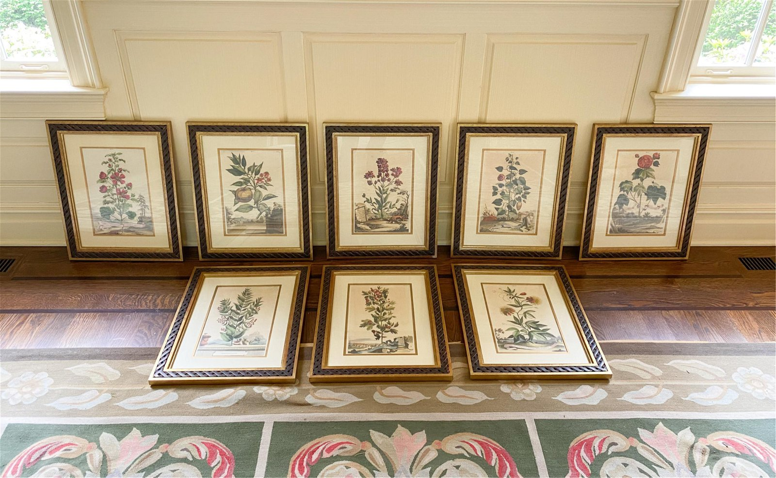 (8) DECORATIVE BOTANICAL PRINTS