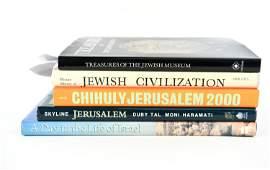 GROUPING OF JUDAICA SUBJECT BOOKS