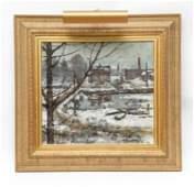 ELMER L MACRAE, CT (1875 - 1953) COS COB O/C
