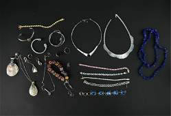 JEWELRY GROUPING INCL STERLING