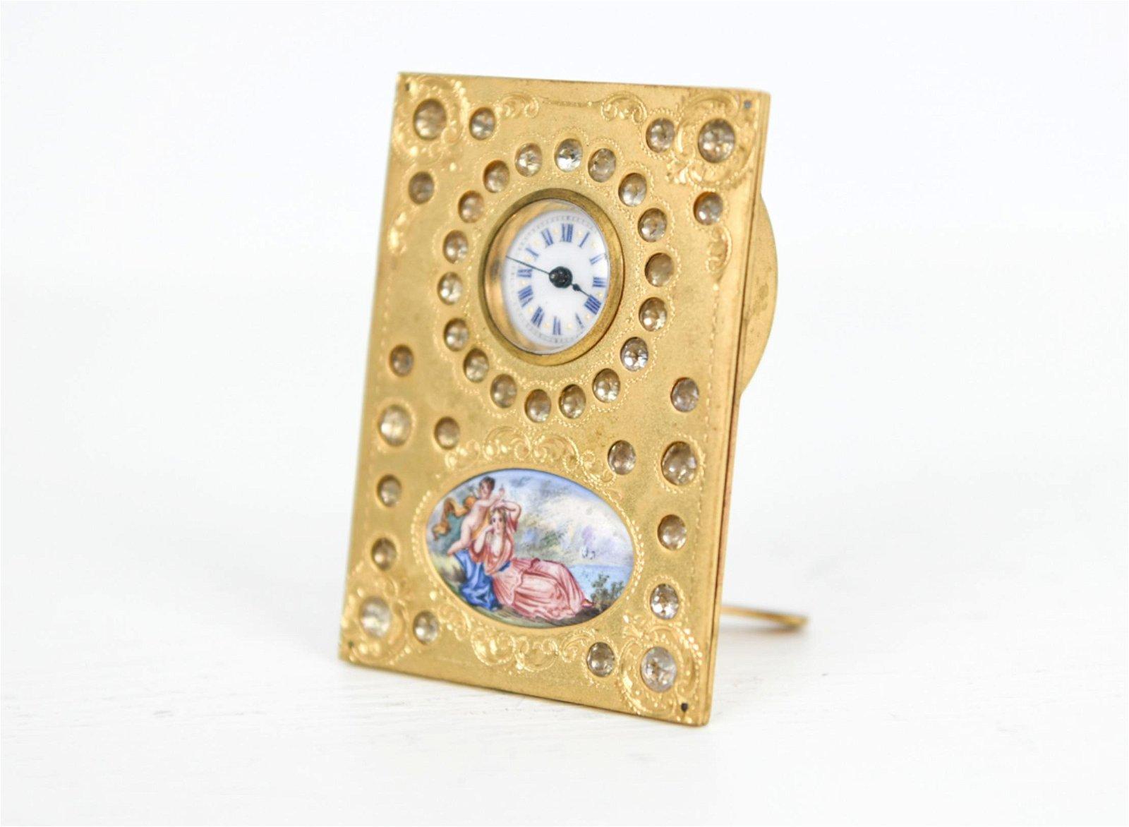 Ballylelly T/ête de l/éopard Vintage Antique Cadran Rond Quartz Montre De Poche Collier Pendentif Horloge pour Hommes Femmes Cadeaux