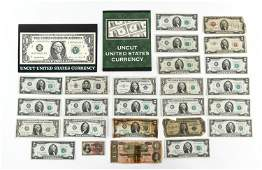 GROUPING OF US CURRENCY