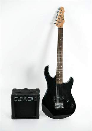 PEAVEY ROCKMASTER ELECTRIC GUITAR & AMP