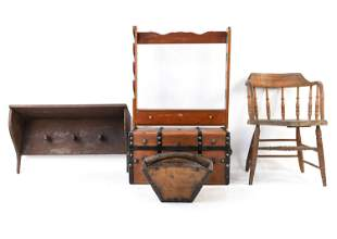 (5) COUNTRY FURNITURE GROUPING ETC.