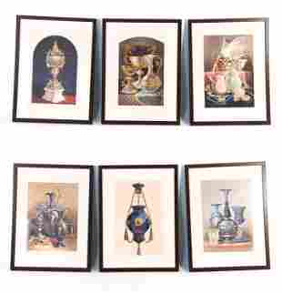 (6) DAY & SON INDUSTRIAL ART VICTORIAN LITHOGRAPHS
