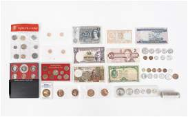AMERICAN FOREIGN CURRENCY COINS