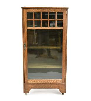 ANTIQUE ARTS AND CRAFTS BOOKCASE