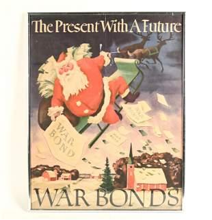 WWII ADOLF DEHN WARD BONDS POSTER