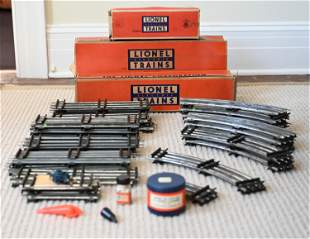 "COLLECTION OF LIONEL ""O"" SCALE TRAINS, C. 1950'S"