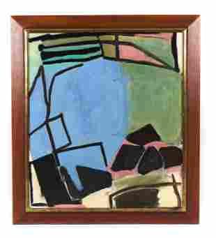 CLAIRE SEIDL, NY (B. 1952) ABSTRACT O/C , 1988