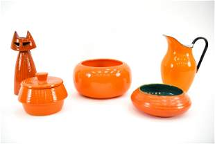 MID-CENTURY CERAMIC GROUPING INCL. ROYAL HAEGER