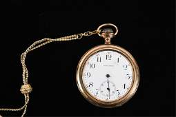 GOLD FILLED POCKET WATCH GROUPING
