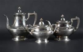 GORHAM STERLING SILVER TEA/COFFEE PARTIAL SERVICE