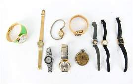 GROUPING OF VINTAGE WRIST WATCHES