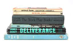 VINTAGE BOOKS INCL. DELIVERANCE JAMES DICKEY