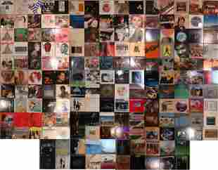 LARGE GROUPING OF VINTAGE RECORDS MANY GENRES