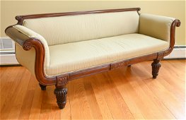 ANGLO INDIAN CARVED SOFA